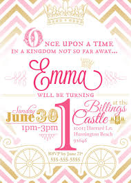 Custom Princess Birthday Party Invitation In By Mulligandesign