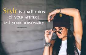 style quotes inspirational caption for style attitude status