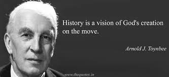 history is a vision of god s creation on the move arnold j