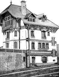 maison de l architecte meaux drawing