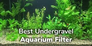 5 best undergravel aquarium filter