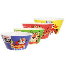 Tony The Tiger Bowls Multicolor Set Of 4 Walmart Com Walmart Com