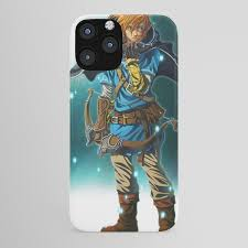 The Legend Of Zelda Breath Of The Wild Link Iphone Case By Dzoho Society6