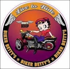 Betty Boop Live To Ride Decal Nostalgia Decals Retro Vinyl Stickers Nostalgia Decals Online