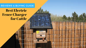 Best Electric Fence Charger For Cattle Updated April 2020 Home Beast