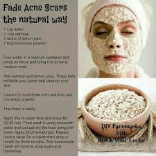 natural diy face masks acne treatment