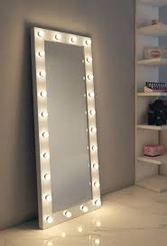 dressing hollywood mirror white 70 x 28