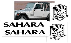 Graphic Express Jeep Hood Decal Lettering Kit Wrangler Name