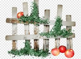 Drawing Fences Decor Fence Christmas Decoration Png Pngwing