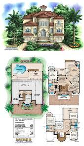 beach house plan 3 story coastal