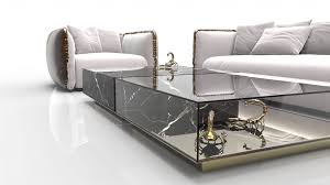 marble coffee and side table designs on