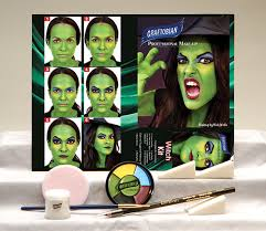 witch makeup kit witch character kit