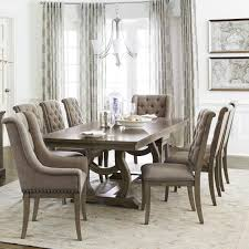 Homelegance Vermillion Transitional Dining Table Set With 8 Chairs Simply Home By Lindy S Dining 7 Or More Piece Sets