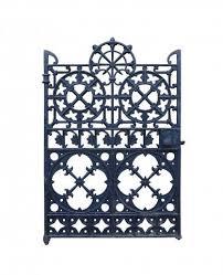 ornate antique cast iron side gate uk