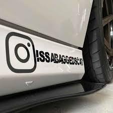 Social Media Decal Instagram Twitter Facebook Custom Username Marketing Decal Home Garden Decor Decals Stickers Vinyl Art