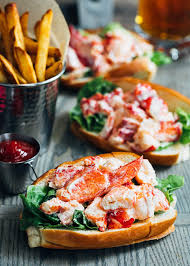Maine Lobster Rolls (Lobster Salad ...