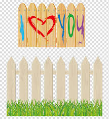 Cartoon Grass Fence Fence Pickets Agricultural Fencing Barbed Wire Garden Cartoon Synthetic Fence Transparent Background Png Clipart Hiclipart