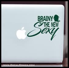 Brainy Is The New Sexy Bbc S Sherlock Inspired Fan Art Vinyl Car Lapt Decal Drama