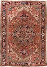 persian heriz antique carpet c11i0904
