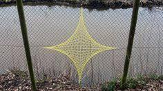 10 Chain Link Art Ideas Link Art Fence Art Chain Link