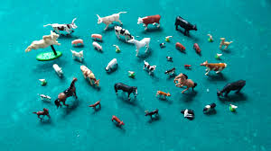 1 64 Scale Livestock Horses Cattle Pigs Oh My Looks Like Farm Toys