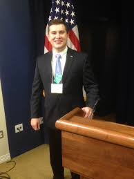 The Delta - Latest News - Austin Finley Goes to Washington - Sigma Nu  Fraternity, Inc.