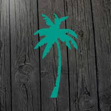 Palm Tree Decal Palm Tree Sticker Palm From Marylandcorvus On
