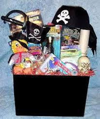 children s fun pirates gift basket ages