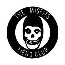 The Misfits Fiend Club Vinyl Decal Sticker