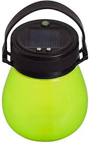 Amazon Com Evergreen Garden Beautiful Summer Green Firefly Solar Lantern 4 X 4 X 5 Inches Fade And Weather Resistant Outdoor Decoration For Homes Yards And Gardens Home Improvement