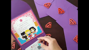 Invitacion Super Girl Youtube