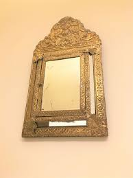 cabinet wall mirror large vintage 3