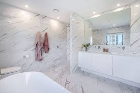large format white marble porcelain