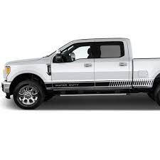Decal Sticker Vinyl 4x4 Stripes Bed Compatible With Ford F250 Etsy