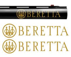 2x Beretta Vinyl Decal Sticker For Shotgun Gun Case Gun Safe Etsy