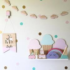 Nordic Style 10pcs Set Natural Wooden Cloud Decoration Diy Banner For Kids Bedroom Wall Decal Bed Background Tent Decor Banner Nordic Style Banner Diybanners Decorations Aliexpress