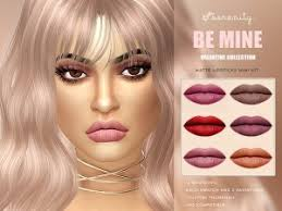 the sims resource lipstick body color