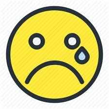 emoji emoticons face sad smiley icon