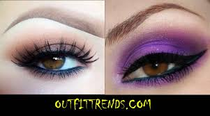 cute eye makeup for brown eyes
