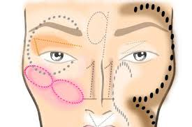 nose contour chart trinity