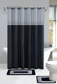 bathroom shower curtain and rug ideas