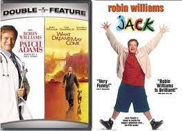 Amazon.com: Robin Williams Jack & Patch Adams Set [DVD] 2 Pack ...