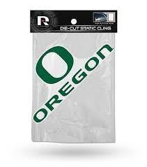 Oregon Ducks Die Cut Static Cling Decal Sticker 3 X 7 New Car Window Hub City Sports