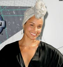 alicia keys goes without makeup at bet
