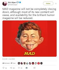 Image result for mad closing down