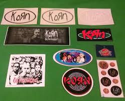 Korn Jonathan Davis Munky Fieldy Vinyl Sticker Decal Car Truck Boat Huge 6 New Rainbowlands Lk
