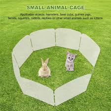 Small Pet Playpen Indoor Exercise Fence Outdoor Portable Pet Playpen Yard Fence For Hamsters Guinea Pigs Rabbits Lazada Ph