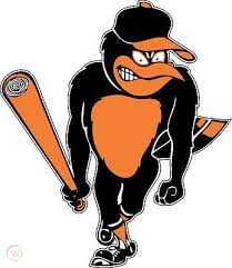 Baltimore Orioles Angry Bird Window Wall Sticker Vinyl Car Decal Any Colors 306842769
