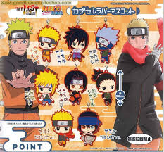 Bandai Naruto Shippuuden The Last Naruto the Movie Rubber Mascot ...
