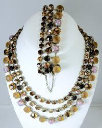 jl blin paris 3 strand necklace